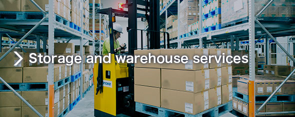 Storage and warehouse services