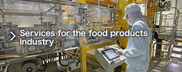 Services for the food products industry
