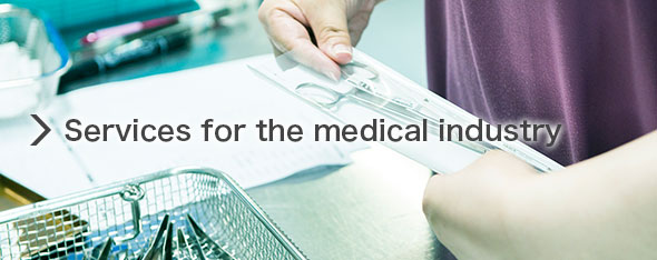 Services for the medical industry