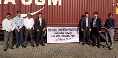 鉄道輸送の要所を押さえた現地パートナー企業との連携によって、インドでの鉄道輸送サービスの可視化を可能に。